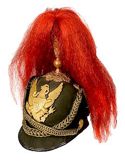 Model 1881 1st Artillery Officer's Dress Helmet