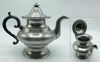 American Pewter Teapot