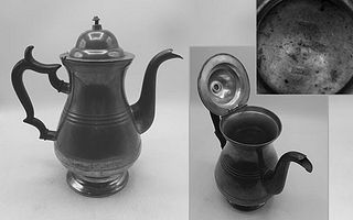 Pewter Pot Marked by Palethorp & Connell