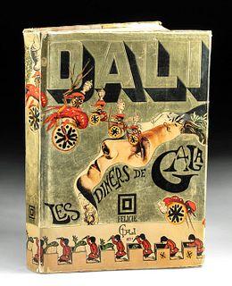 """Salvador Dali """"Les Diners de Gala"""" Cookbook, 1973"""