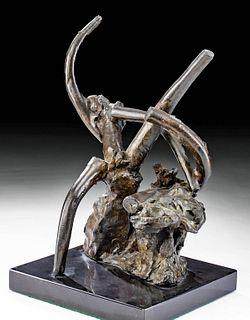 Reuben Nakian Bronze Sculpture, ca. 1960s