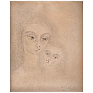REMEDIOS VARO, Sin título, 1961, Firmado, Lápiz sobre papel, 29.5 x 23 cm