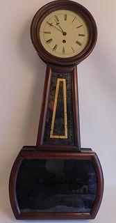 E. HOWARD #4 BANJO CLOCK