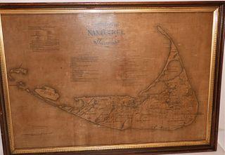 FC EWER NANTUCKET MAP 1869