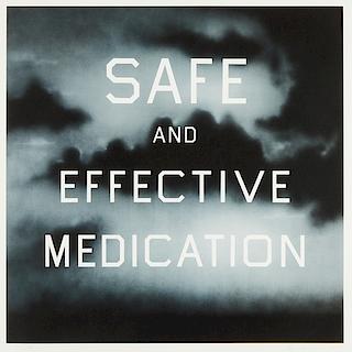 Ed Ruscha 'Safe and Effective Medication'