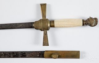 W.H. Horstmann lodge sword