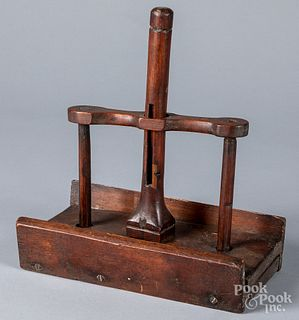 Pine deadfall mousetrap, early 19th c.