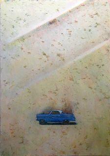 CHRIS DAUBERT, Lonny's Metro, Periwinkle Blue