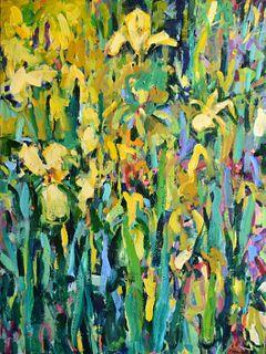PAT MAHONY, Yellow Iris