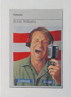 HUGH MENDES, Obituary: Robin Williams