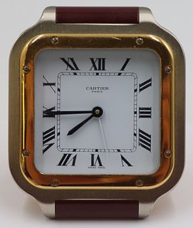 Cartier Santos Desk Clock.