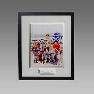 Hannah Montana Cast, Signed Print Autographed.