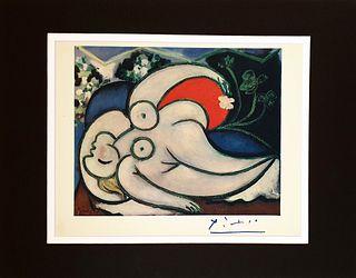Nude, PABLO PICASSO ORIGINAL LITHOGRAPH, 1948 Print