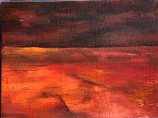 GEORGE FRIERY, Red Sunset