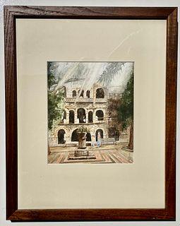 JACKIE GIVAS, Villa Comunale, Sicily