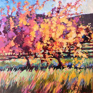 CAROL HODGSON, Autumn Vineyard