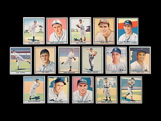 A Group of 16 1941 Play Ball Baseball Cards,