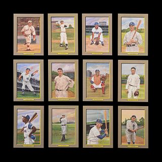 A Complete Run of 1984-97 Series One Through Nine Perez-Steele Baseball Hall of Fame Great Moments Cards