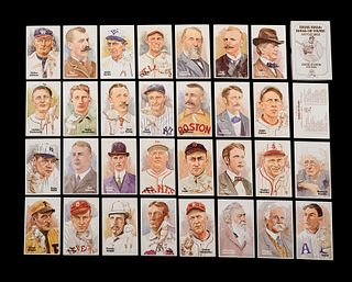 A Complete Run of 1980-2002 Series One Through Fifteen Perez-Steele Baseball Hall of Fame Post Cards