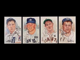A Collection of 24 Perez Steele All Century Team Postmarked Cards,