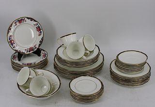 """Wedgwood """"Royal Lapis"""" English Porcelain Service"""