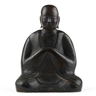 20th c. Chinese Bronze Buddha