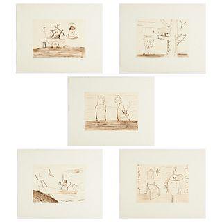 "T. L. Solien ""Fragments of Hope"" Folio 1982"
