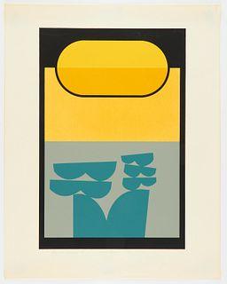 "Howard Krisel ""Wave Form"" Screenprint"