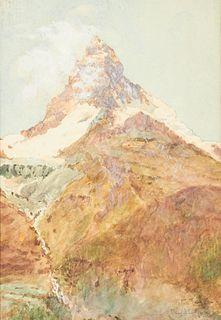 Peter Teigen Mountain Watercolor
