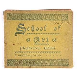 Duncan Grant School of Art Drawing Book