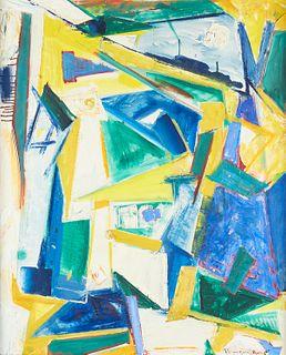 Sam Provenzano Abstract Oil on Canvas