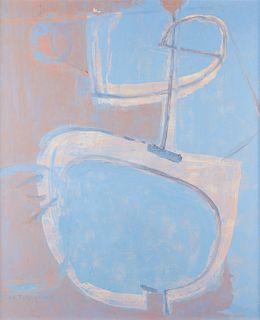 "Michio Takayama ""Space Walker"" Oil on Canvas"