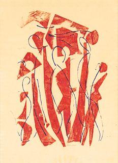 Herbert Nolan Abstract Painting