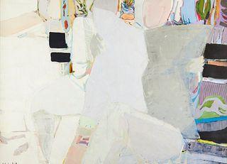 """Gabriel Godard """"Le Journal"""" Oil on Canvas"""