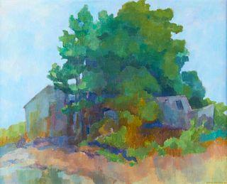 Byron Bradley Landscape Oil on Canvas
