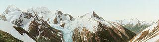 "William Henry Jackson ""Mt. Fox & Mt. Dawson"" Photochrome"