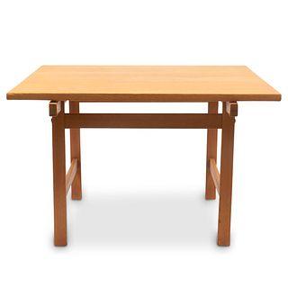 Hans Wegner Mobler Square MCM Table