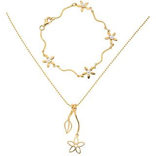 CHOKER, PENDANT AND BRACELET WITH CULTURED PEARLS IN 18K YELLOW GOLD, TOUS  4 White pearls