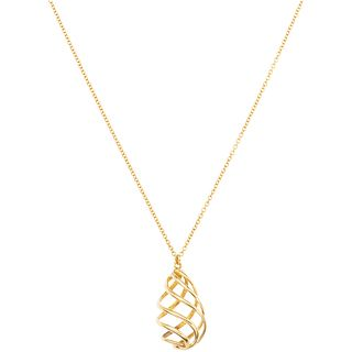 CHOKER IN 18K YELLOW GOLD, TIFFANY & CO., VENEZIA PALOMA PICASSO COLLECTION Weight: 3.1 g