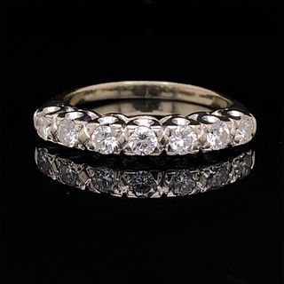 1940Õs 18k Diamond Wedding Band