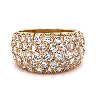 VAN CLEEF & ARPELS Paris 18k Diamond Ring