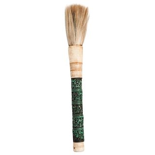 Chinese Bone Calligraphy Brush