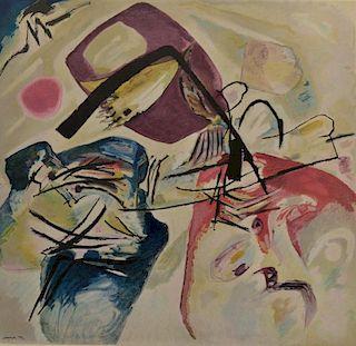after Wassily Kandinsky lithograph