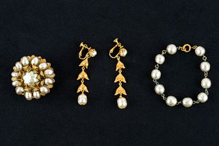 Vintage Miriam Haskell Pearl Collection