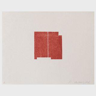 Robert Mangold (b. 1937): Prints 1968-1998