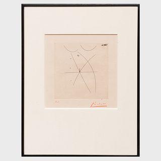 Pablo Picasso (1881-1973): Nu II, from Estampes Originales