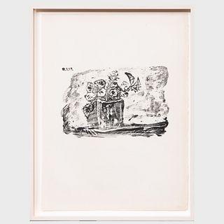 Pablo Picasso (1881-1973): Le Petit Pot de Fleurs, from Dans l'Atelier de Picasso