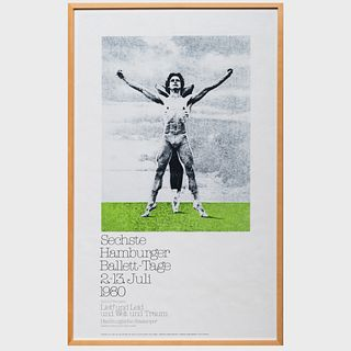 A Group of Six Exhibition Posters