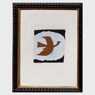 Georges Braque (1882-1963): Oiseau Bistre