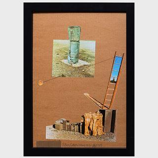 Robert Rauschenberg (1925-2008): Composition, from The Man Ray Portfolio